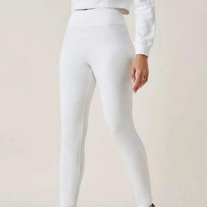 White Shein Leggings